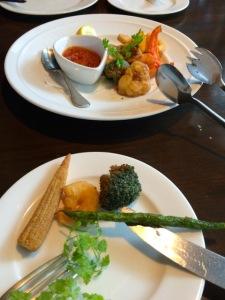 魚介と野菜のフリッター