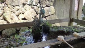 顕鏡寺 手水舎