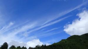 梅雨の合間の晴天