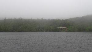 雨の北八ヶ岳