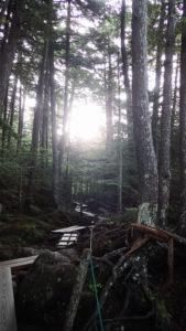 八ヶ岳の夜明け