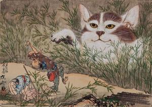 「化け猫」
