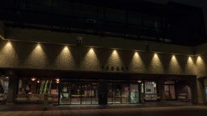 夜の美術館